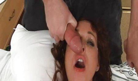 Persetan dalam Threesome - toket-sepong Kayla di panas seks Bertiga bokep jalan cerita MJ